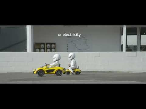 The new McLaren P1™  Embracing alternative fuels