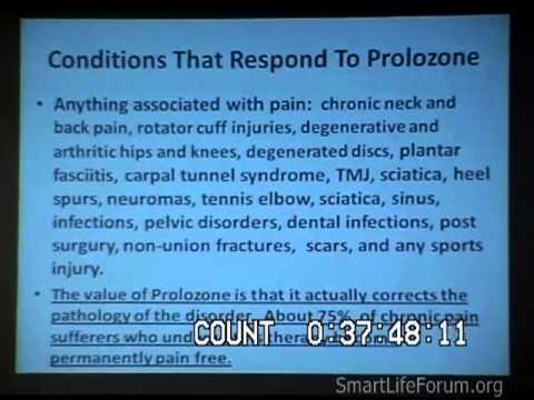 Joint Reconstruction and Pain Elimination using Prolozone