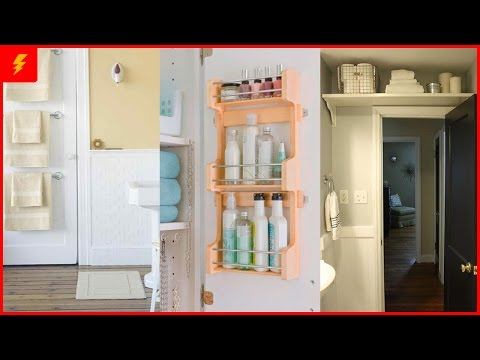 18 Amazing Storage Ideas to Organize Your Small Bathroom