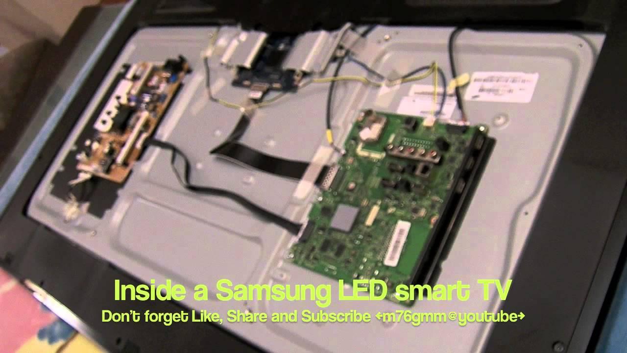 ماذا يوجد بداخل تلفزيون سامسونج الجديد Inside Hd Led