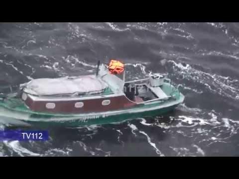 Спасение охотника в Белом море