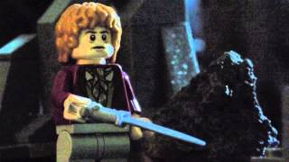 The Hobbit Lego Stop Motion - Bilbo and Gollum