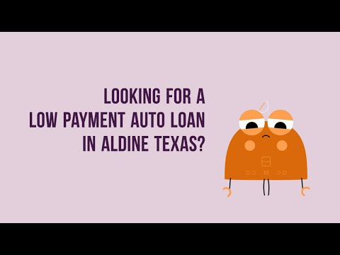 Low to no money down auto loans in Aldine TX With Bad or Good Credit
