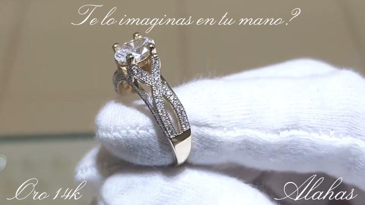 comprador Municipios educar  Colección 2018 de anillos de boda | Joyería Alahas - YouTube