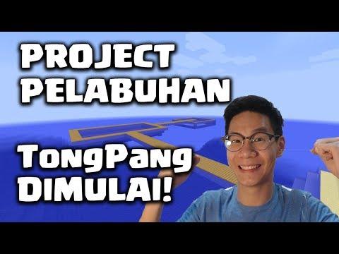APAKAH PELABUHAN PRIVATE TONGPANG AKAN MENJADI INDAH?? - Minecraft Survival indonesia #37