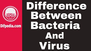 Difference between Bacteria and Virus