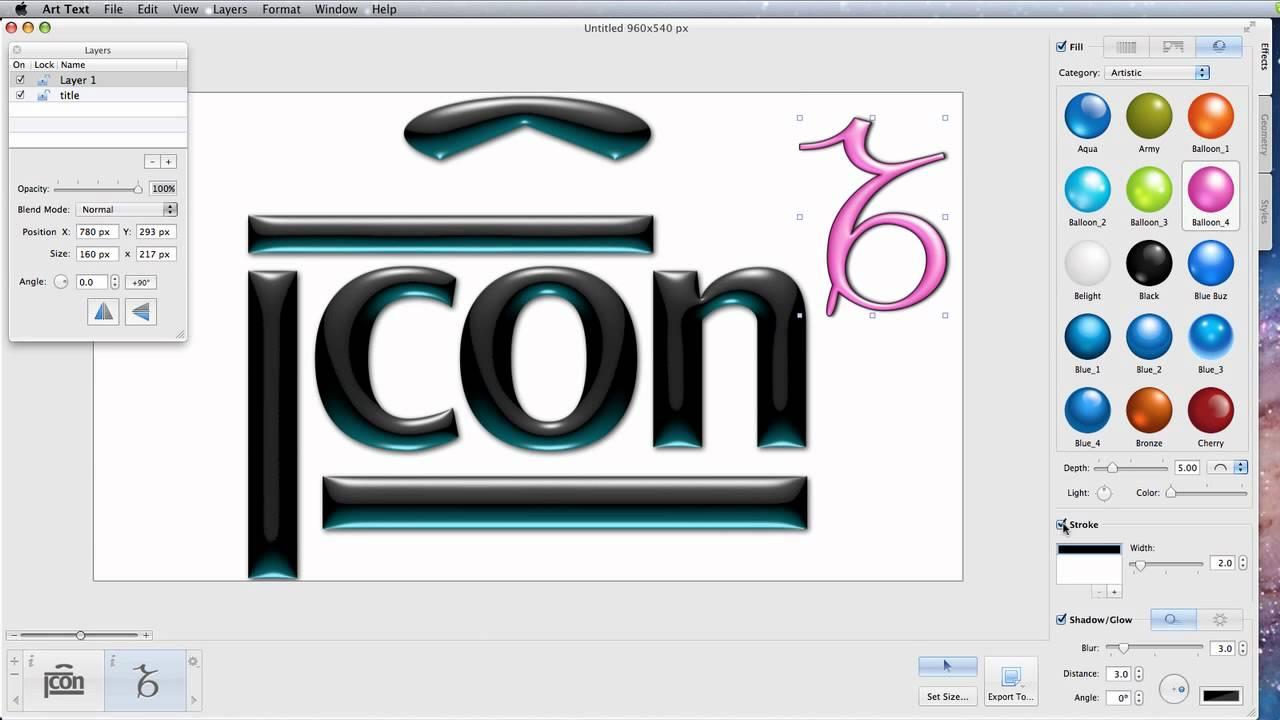 Logo Design for Mac  Free downloads and reviews  CNET