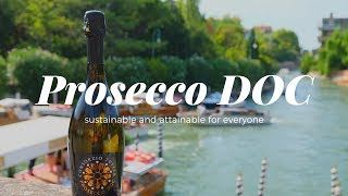 Prosecco Doc Sparking Wine That's Sustainable & Attainable - Wine Oh Tv