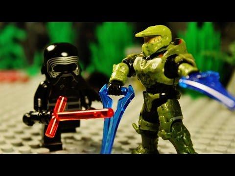 Lego halo vs star wars 16 the finale youtube - Croiseur interstellaire star wars lego ...