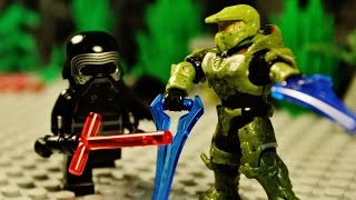 Repeat youtube video Lego Halo vs Star Wars 16