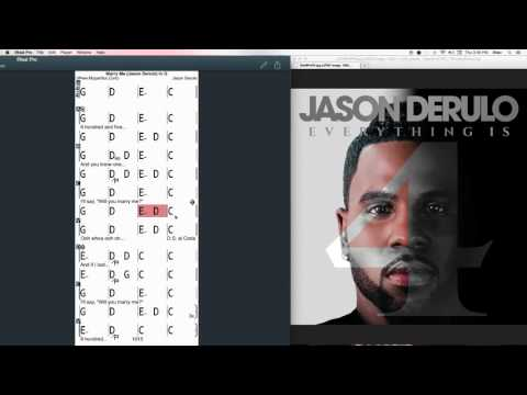 Marry Me Chords at MyPartitur - by Jason Derulo