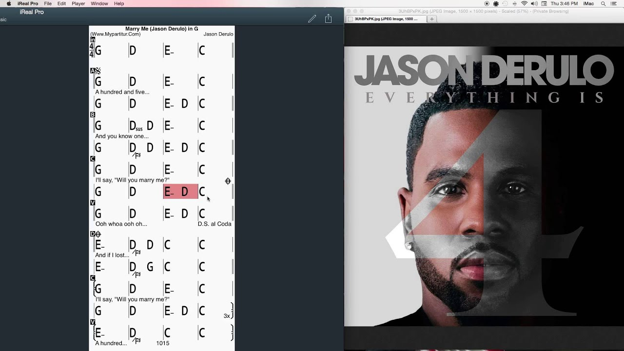 Marry Me Chords At Mypartitur By Jason Derulo Youtube
