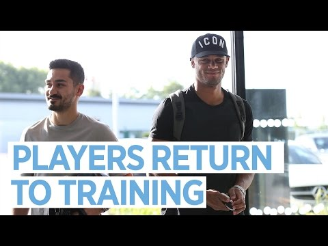 CITY PLAYERS RETURN TO TRAINING!