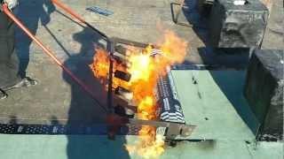 видео горелка газовая для кровельных работ