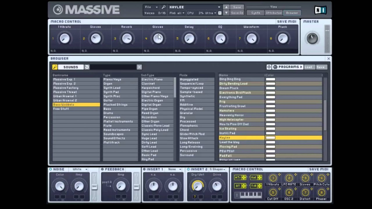 Free Massive Presets! Bass Wobbles, Plucks, Pads and More!
