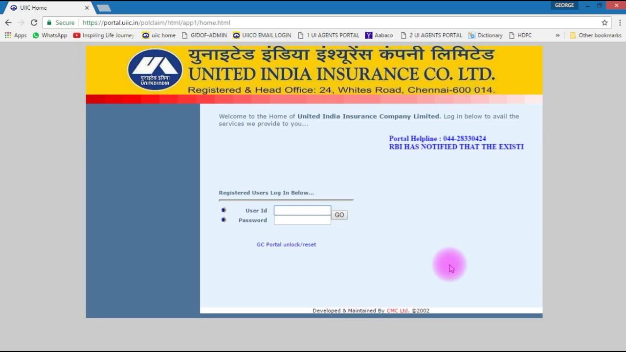 United Car Insurance Renewal