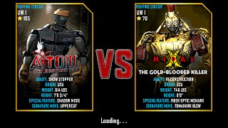 Real Steel WRB ATOM VS MIDAS The Gold-Blooded Killer NEW