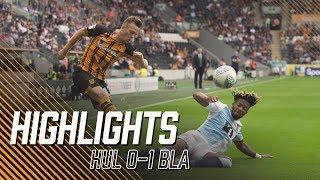 Hull City 0-1 Blackburn Rovers | Highlights
