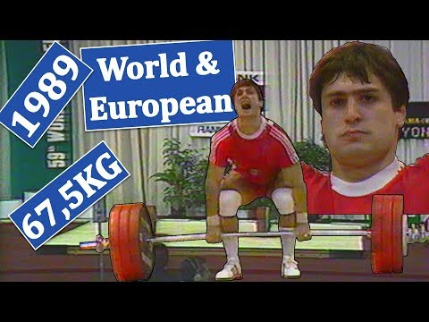 67,5KG | 1989 | World & European Weightlifting Championships (Athens, Greece)