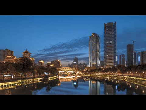 Chengdu style in 4k