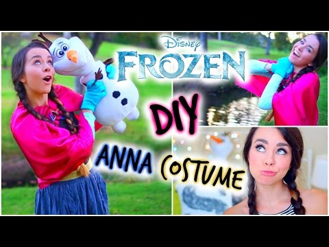 DIY Frozen Anna Halloween Costume! Easy & Afdle!