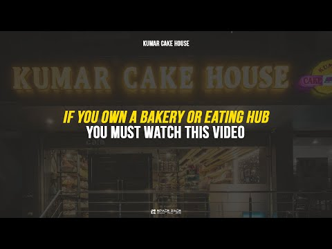 The Multisensory bakery - kumar cake house by Space Race Architcts