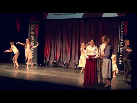 Ballet Nouveau Colorado and Lighthouse Writer's Group at TEDxYouth@MileHigh