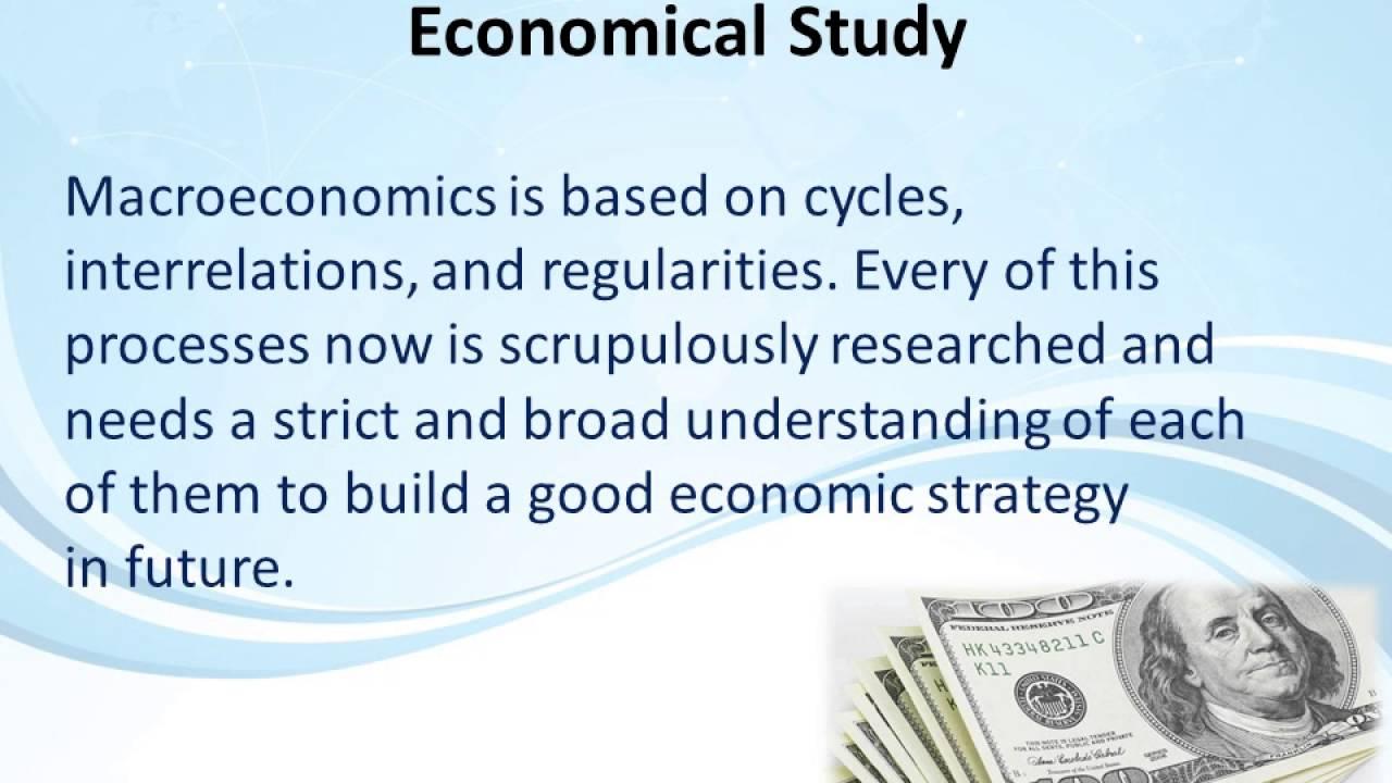 Macroeconomics topics for research paper