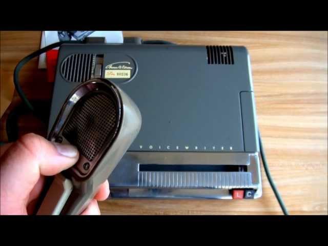 1950s Edison Voicewriter Dictaphone