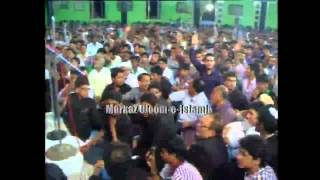 Allama Zameer Akhtar Naqvi in Hyderabad Deccan India (Majlis-1)