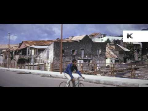 1960s Caribbean Island 16mm Color Home Movies