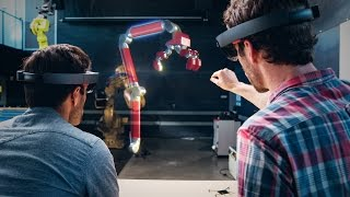 Microsoft HoloLens: Mixed Reality Blends Holograms with the Real World