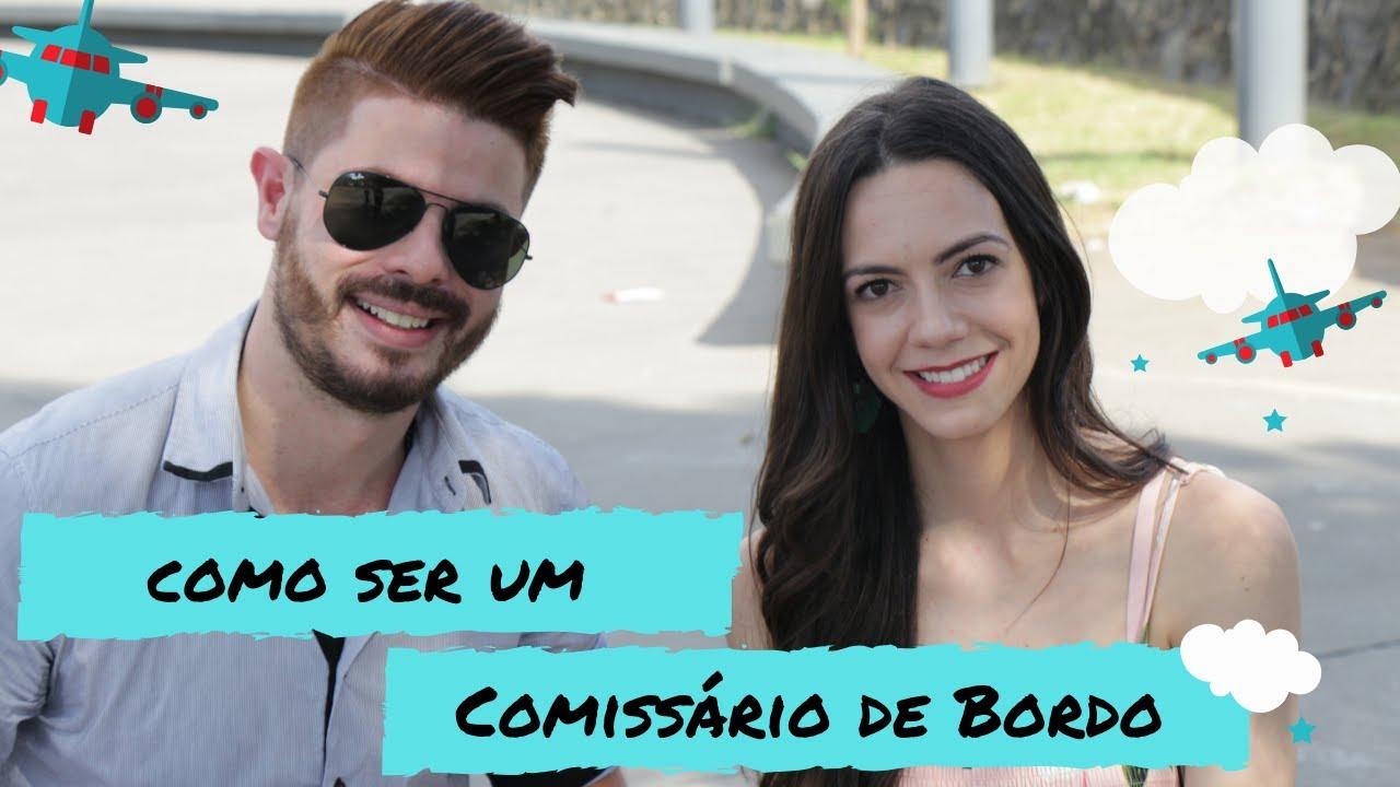 Comissarios De Bordo Entrevista: Como Se Tornar Um Comissário De Bordo Com Rafael Tedorenko