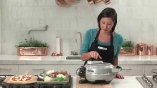 How To Use the Breville Crispy Crust Pizza Maker | Williams-Sonoma
