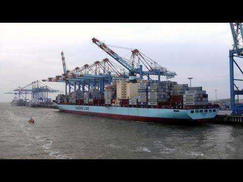 """Frachtschiffreise mit MS """"Anna Sirkka"""" Mai 2013 - Von BHV nach Marokko - Teil 1"""