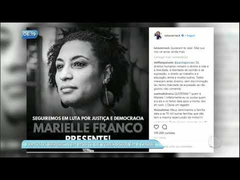 Morte de vereadora Marielle Franco gera manifestações pelo Brasil