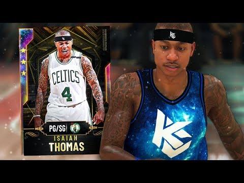 GALAXY OPAL ISAIAH THOMAS GAMEPLAY!! WORLDS FIRST! (NBA 2K20 MYTEAM)