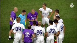 Real Madrid  vs Bayern Munich. USA Tour closure