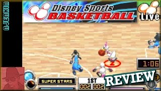 Disney Sports Basketball - on the GBA - with Commentary !!
