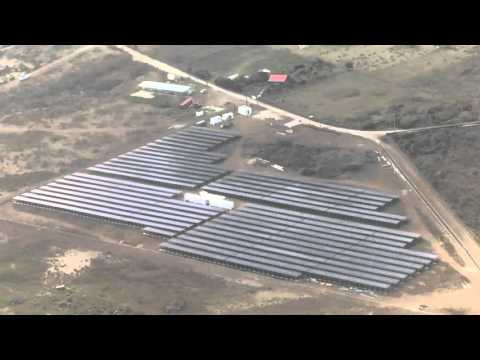 Project St. Eustatius: All solar panels installed