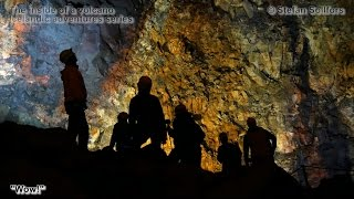 Visiting the inside of an Icelandic volcano - Icelandic adventures series