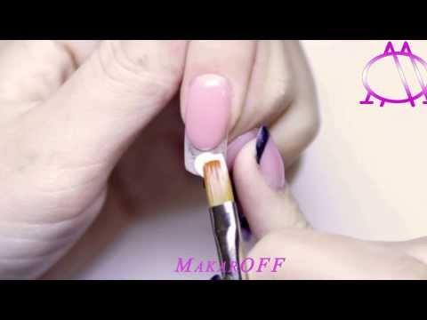 Видео Учение наращивание ногтей минск