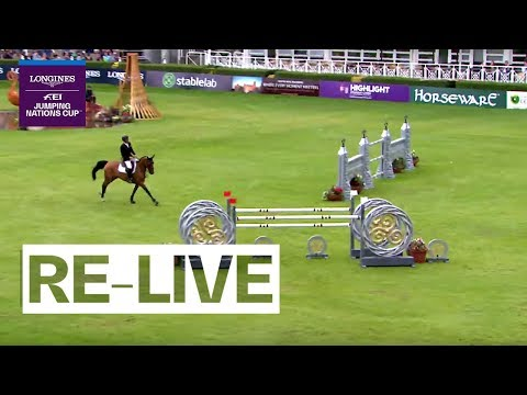 RE-LIVE | Longines FEI Jumping Nations Cup™ 2019 | Dublin (IRE) | Longines Grand Prix