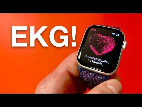 Badanie EKG na Apple Watch 4! Jak działa? Jak wykonać? TEST!