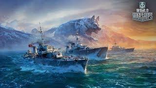 World of Warships. Царь в мире животных, это олень