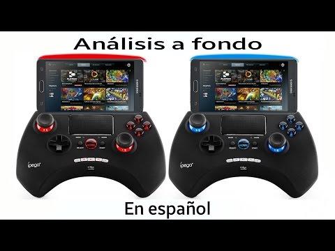 Review en español Del Control iPega 9028