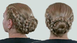 Прическа на Лето 2015 Года| Красиво Собранные Волосы| Видео Урок| Hairstyle for Summer