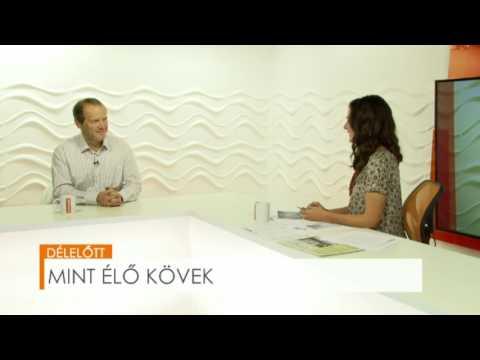 2016.10.25.  Mint élő kövek - Bayer Róbert - BonumTV