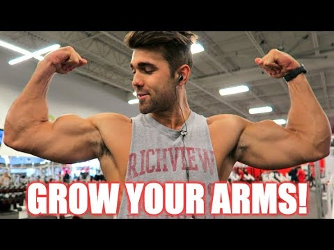 How to get Huge Arms with These Simple Tricks
