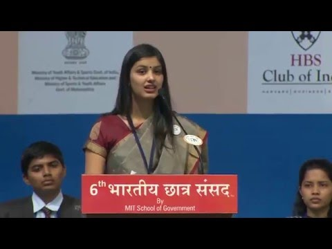 Bhargavi Mahajan at the 6th Bhartiya Chhatra...